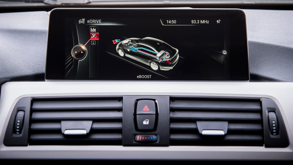BMW Serie 3 Plug-in Hybrid - pantalla