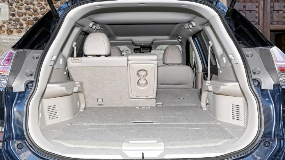 Nissan X-Trail maletero