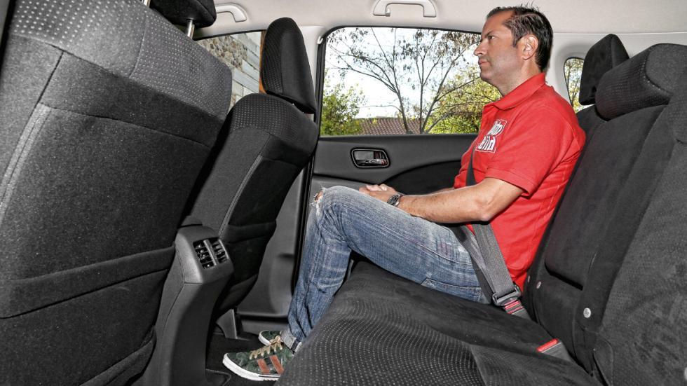 Honda CR-V plazas traseras