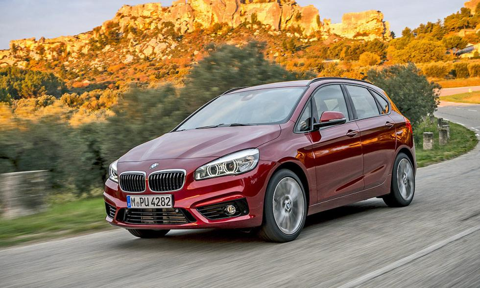 BMW Serie 2 Active Tourer xDrive carretera