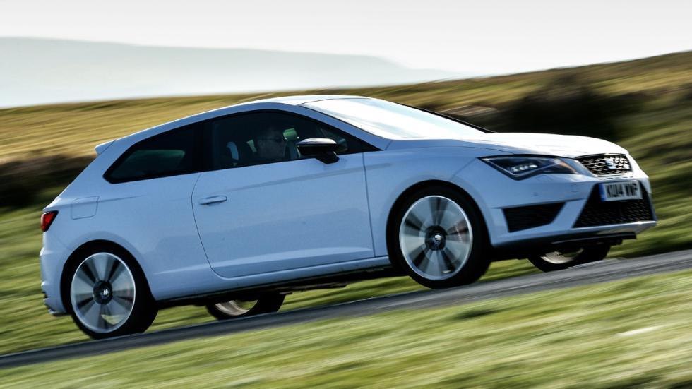 Mejores compactos según top gear Seat León Cupra