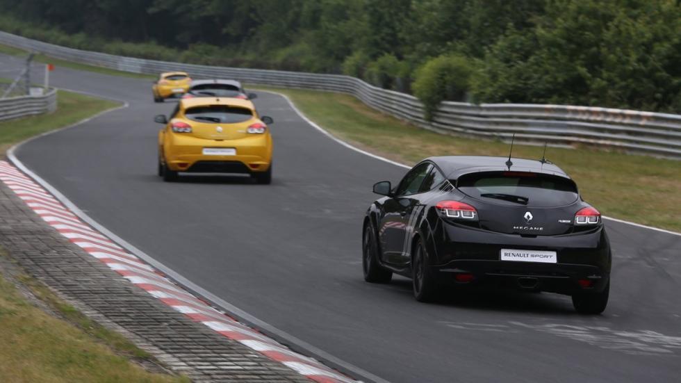Mejores compactos según top gear Renault Mégane RS 275 Trophy zaga
