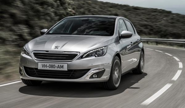 Peugeot 308 2014 frontal