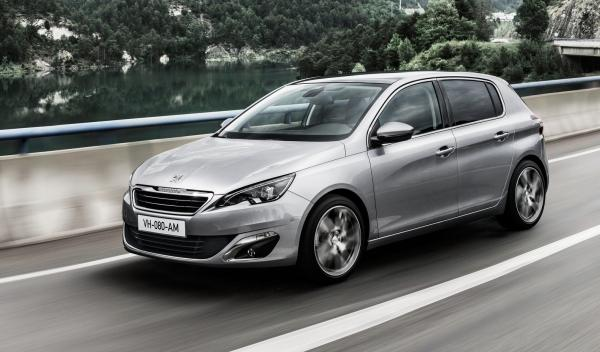Peugeot 308 2014 lateral