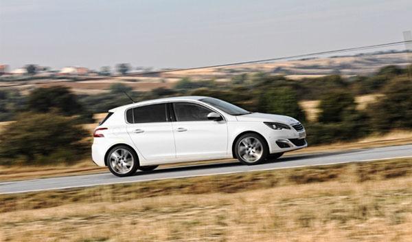 Peugeot 308 2014 barrido