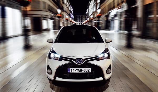 Toyota Yaris 2015 hibrido frontal
