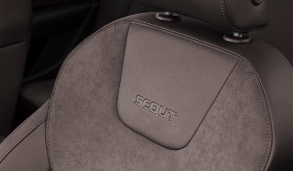 nuevo Skoda Scout asientos