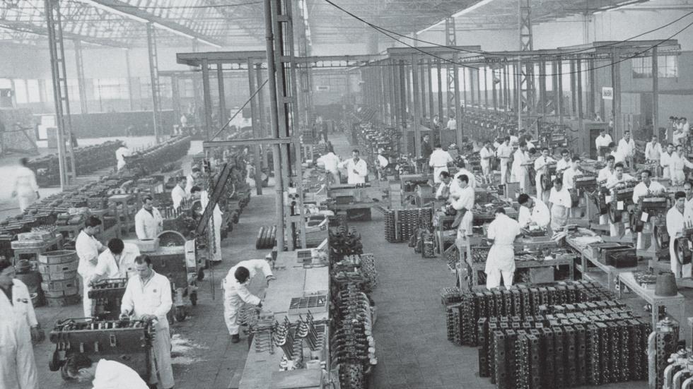 Barreiros fábrica