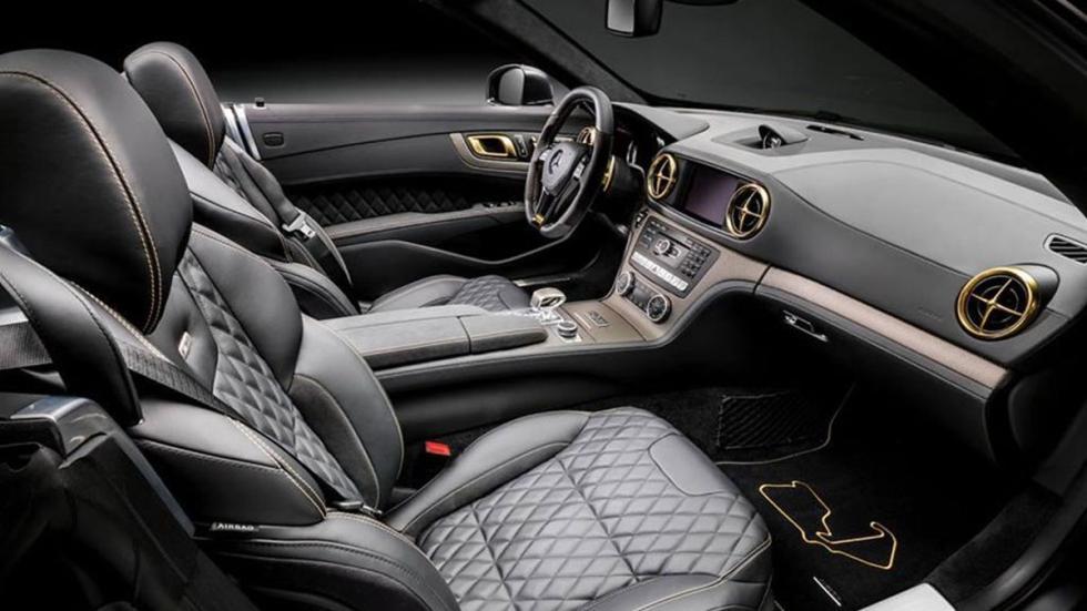 Mercedes SL 63 AMG Hamilton interior