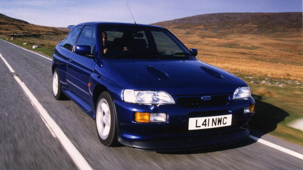 Coches espectaculares Ian Callum Ford Escort Cosworth