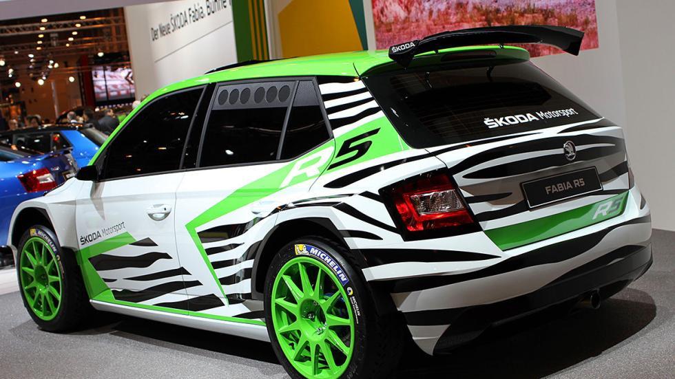 Fabia R5 Concept Car