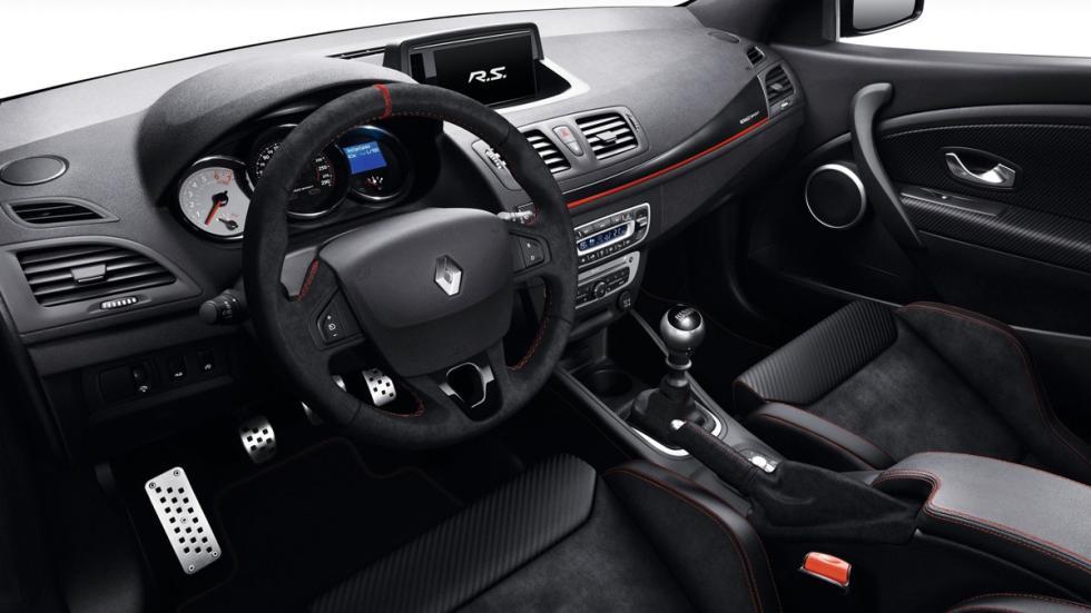 Deportivos sólo cambio manual Renault Mégane RS Trophy interior