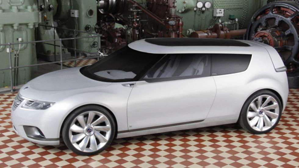 Saab híbrido 9-X BioHybrid