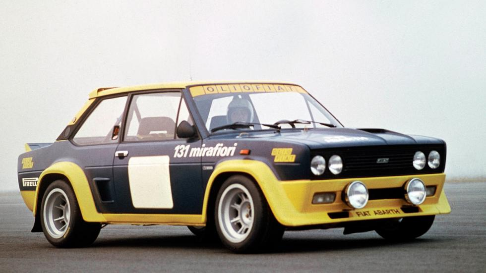 Fiat Abarth 131 Rally delantera