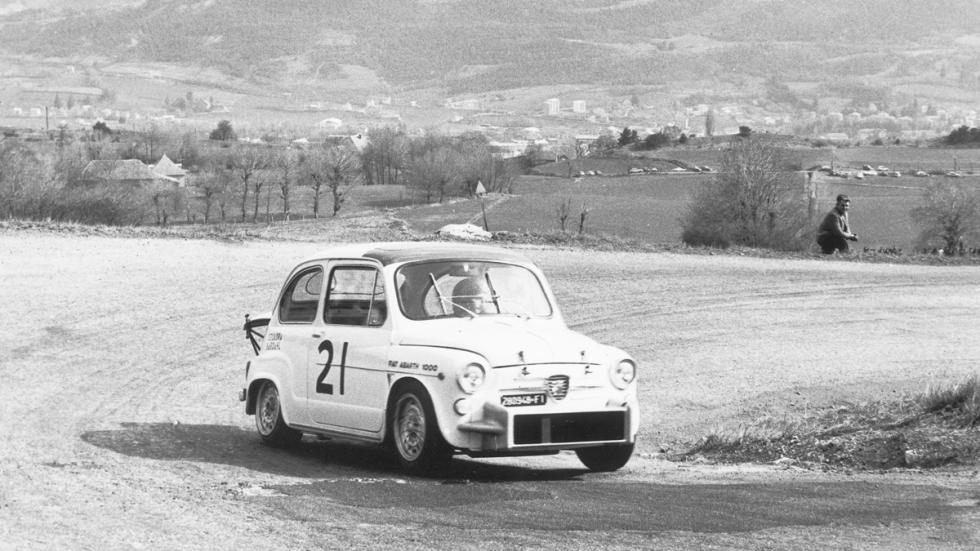 Fiat 1000 Abarth TC delantera