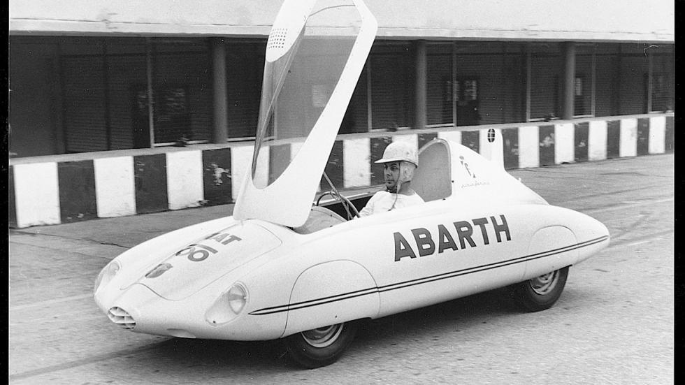 Fiat 500 Abarth prototipo delantera