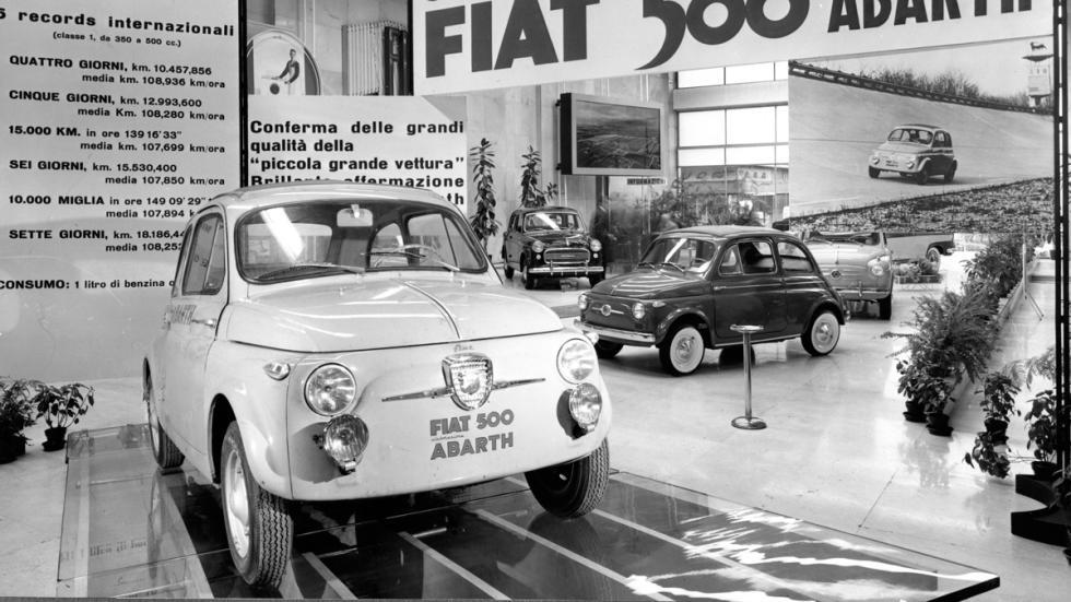 Fiat 500 Abarth delantera