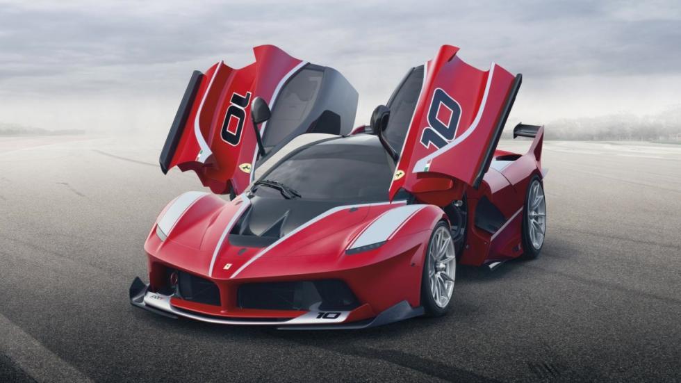 Ferrari FXX K frontal