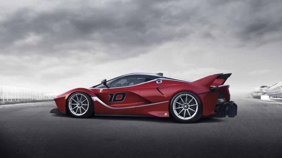 Ferrari FXX K trasera