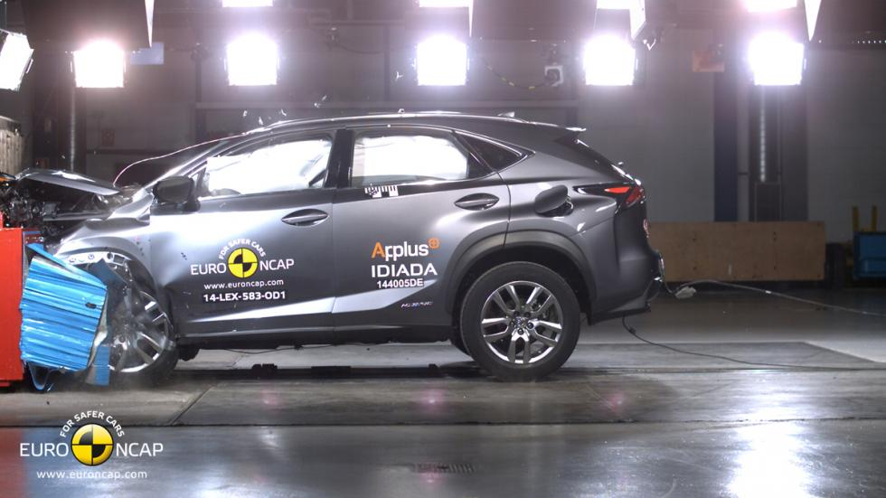 Lexus NX 'crash test' Euro NCAP
