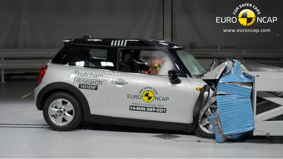 Mini Cooper 'crash test' Euro NCAP