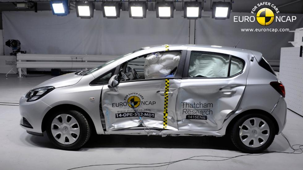 Opel Corsa 'crash test' Euro NCAP