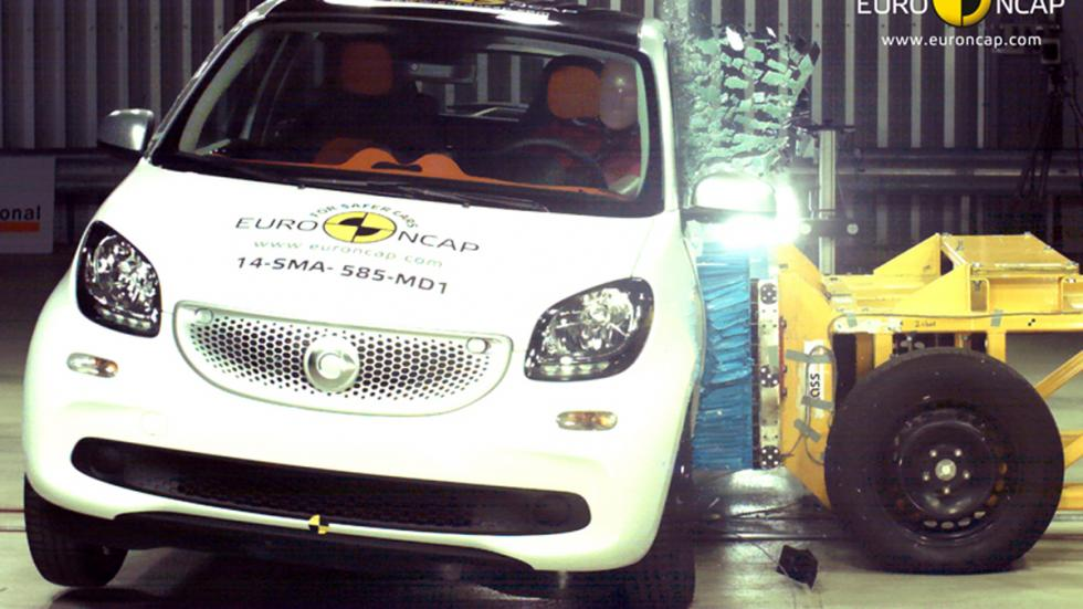 Smart Forfour 'crash test' Euro NCAP