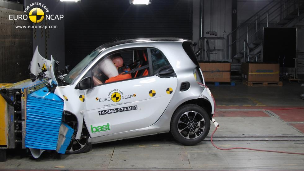 Smart Fortwo 'crash test' Euro NCAP