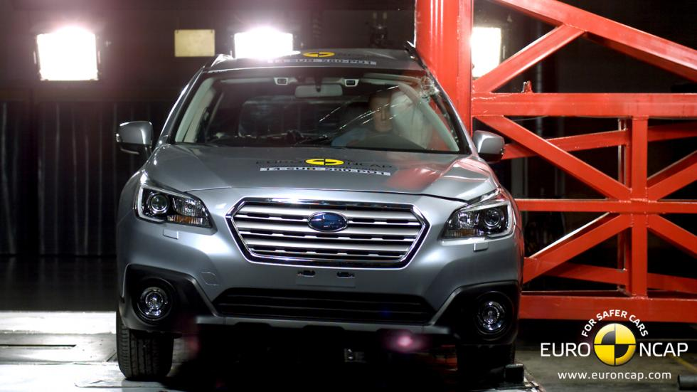 Subaru Outback 'crash test' Euro NCAP