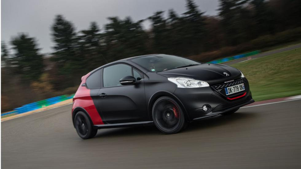 Peugeot 208 GTI 30th aniversario lateral