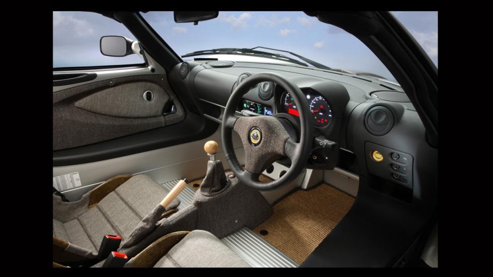 Lotus Elise - interior