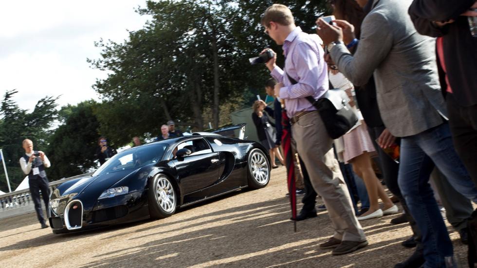 Cochazos millonetis exhibicionistas Bugatti Veyron