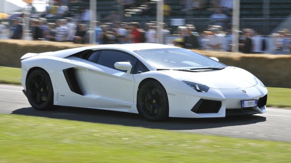 Cochazos millonetis exhibicionistas Lamborghini Aventador