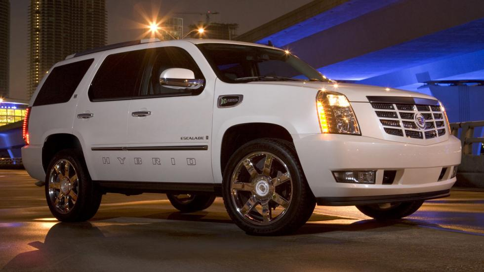 Cochazos millonetis exhibicionistas Cadillac Escalade Hybrid