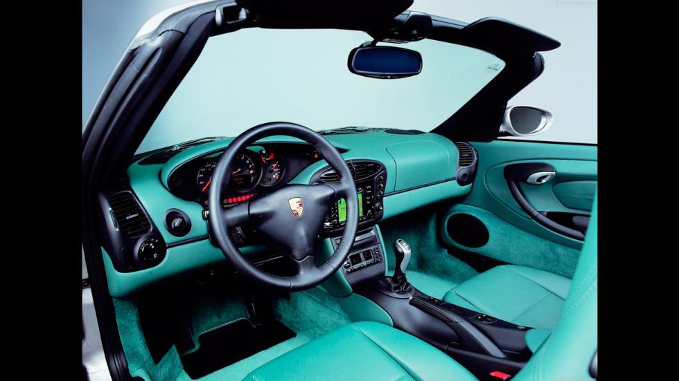 Porsche Boxster - interior
