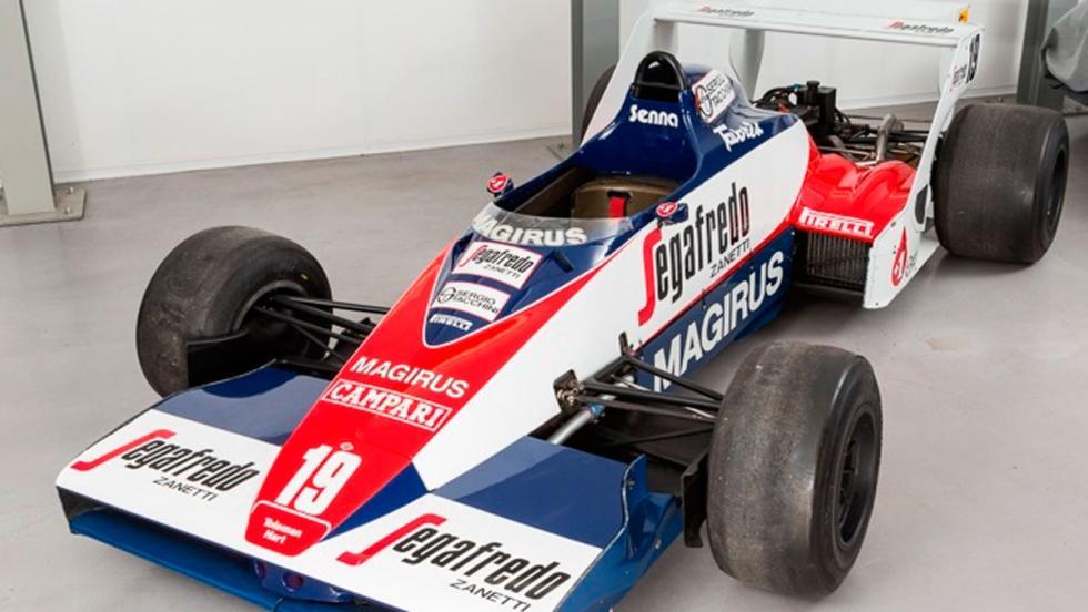 Toleman Senna frontal