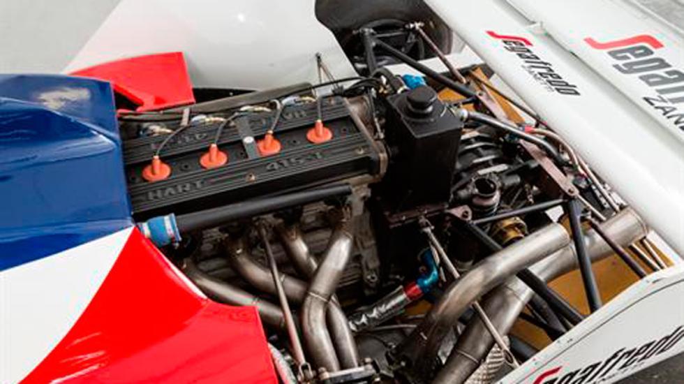 Toleman Senna motor