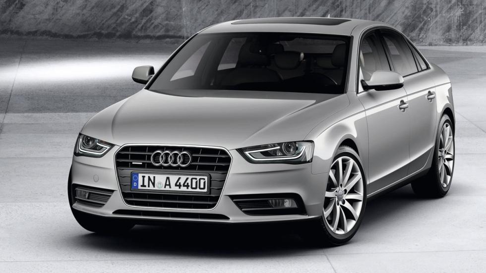 mejores vehículos viajar invierno Audi A4 quattro