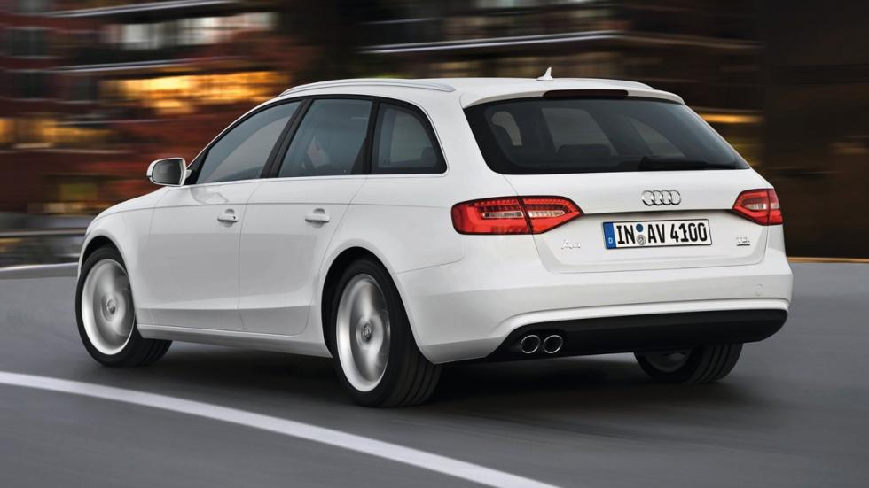 mejores vehículos viajar invierno Audi A4 quattro zaga