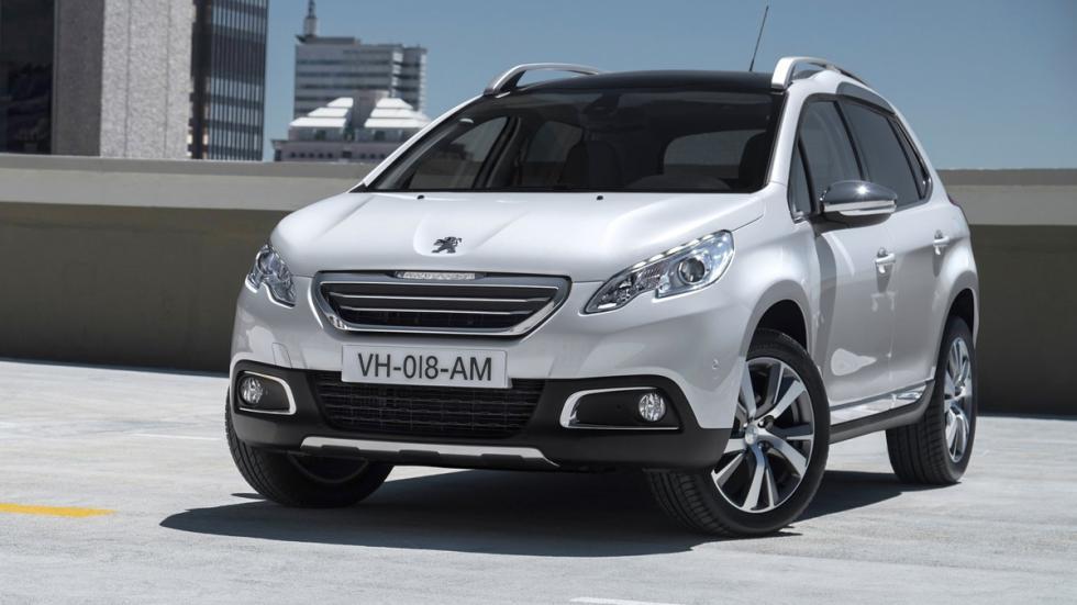 mejores vehículos viajar invierno Peugeot 2008
