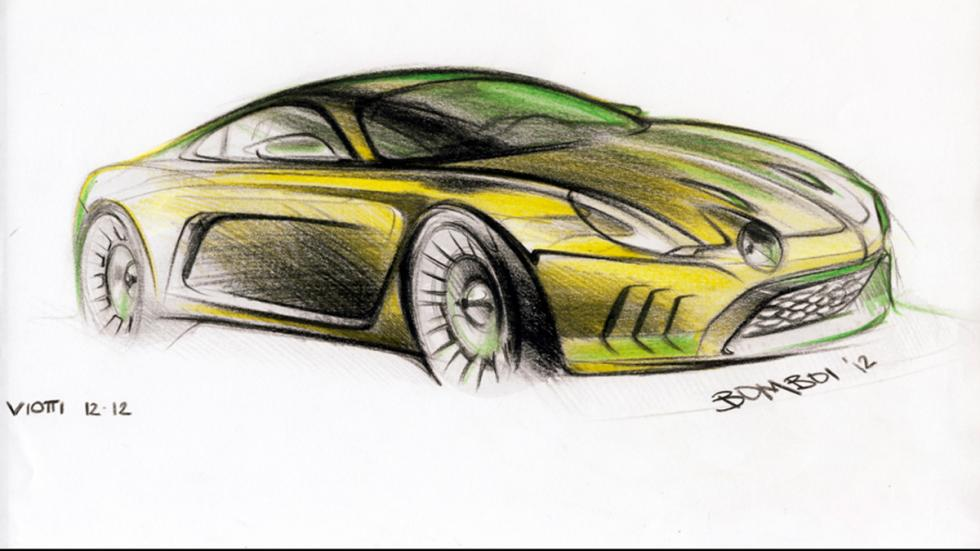 Willys Interlagos - sketching fontal