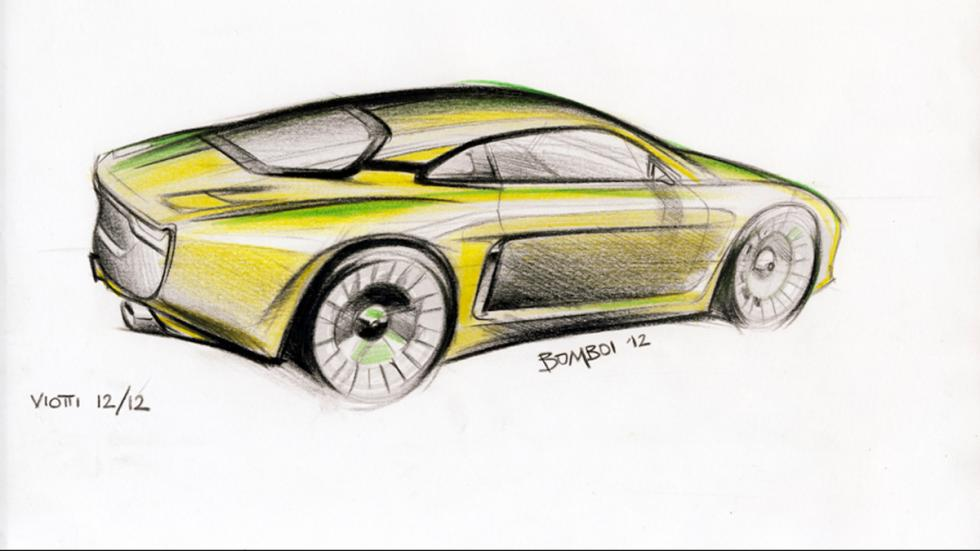 Willys Interlagos - sketching trasera