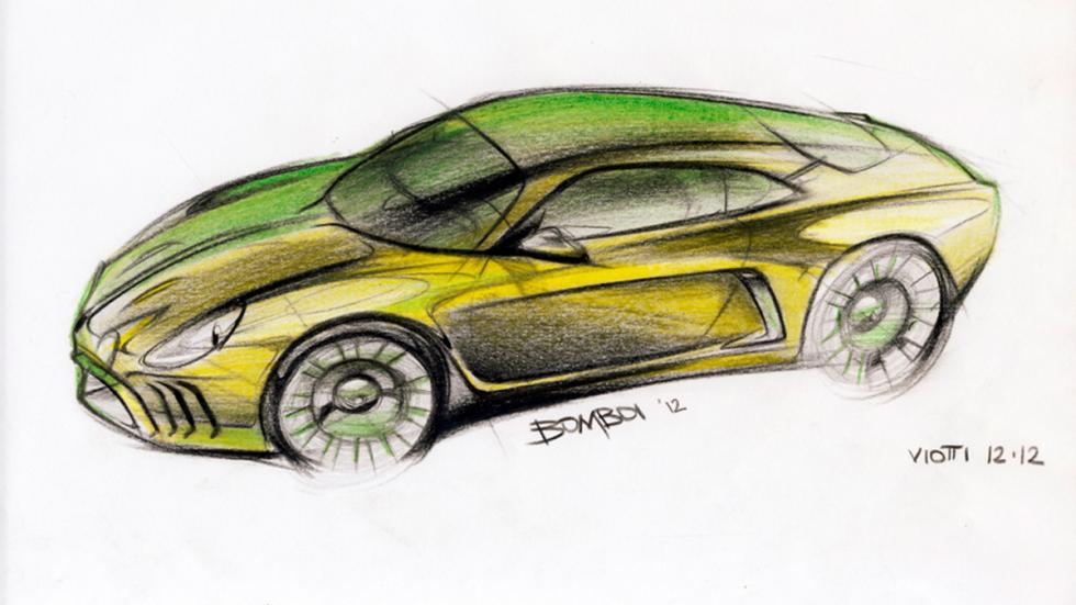 Willys Interlagos - sketching 3/4 delantera