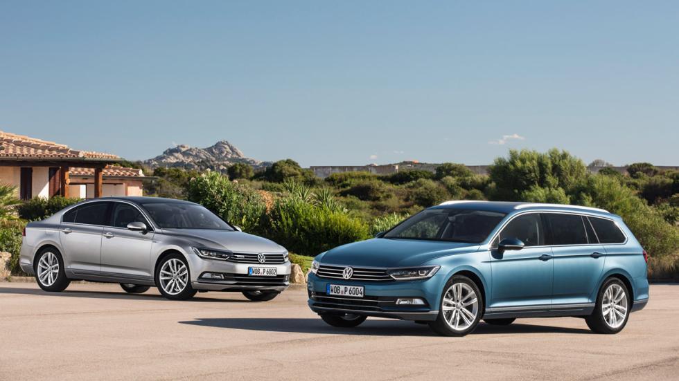 Volkswagen Passat delantera