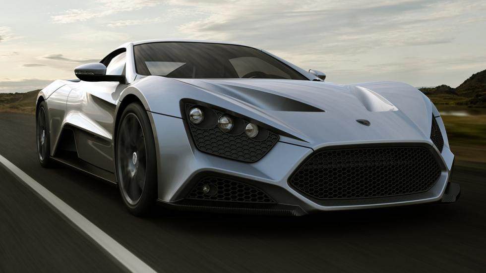 Coches cambio manual más potentes Zenvo ST1