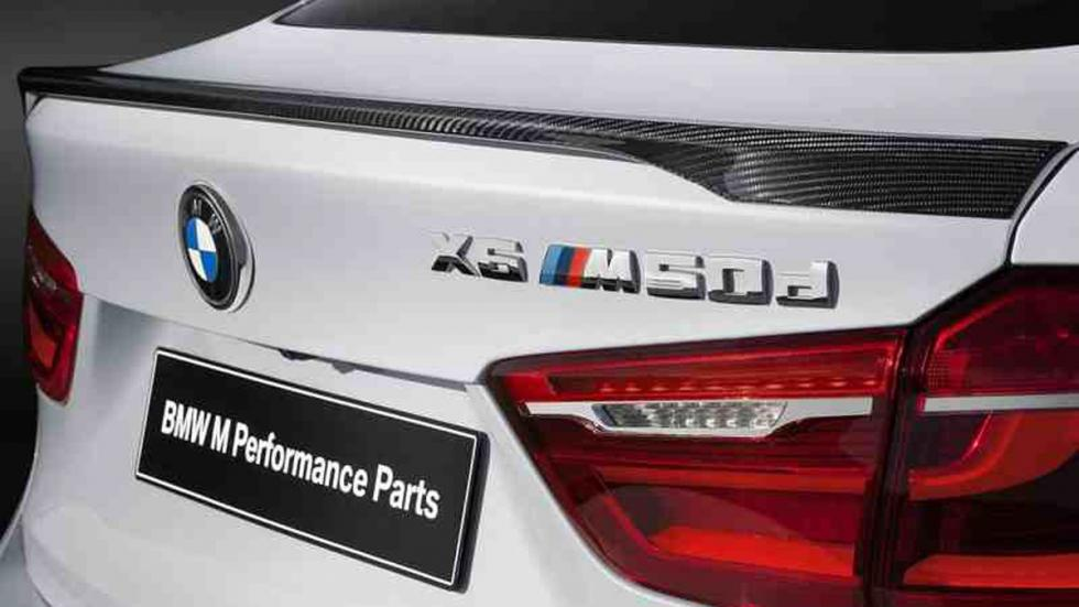 BMW X6 M lateral