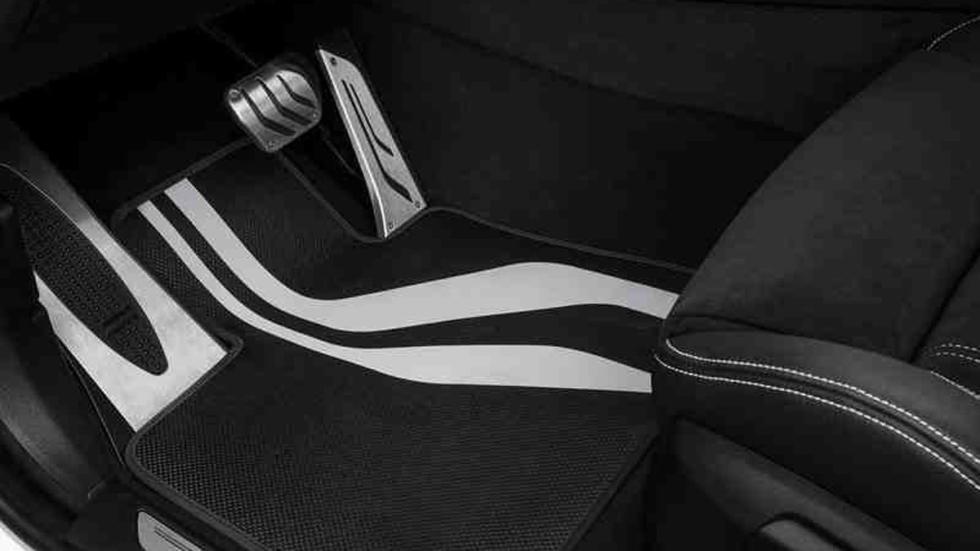 BMW X6 M pedales