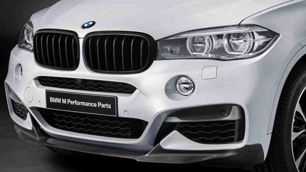 BMW X6 M radiador