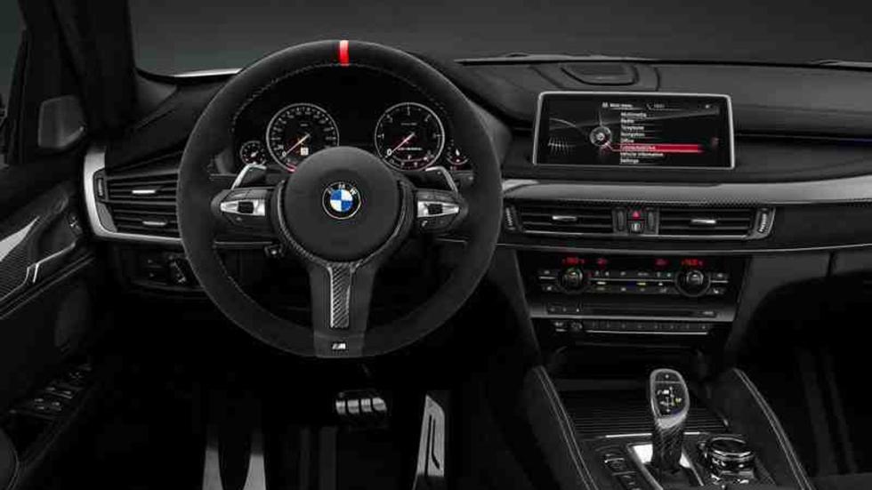 BMW X6 M salpicadero