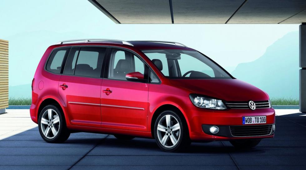 Volkswagen Touran delantera